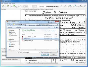 Anzeige für PDFXpress .NET Reader Edition