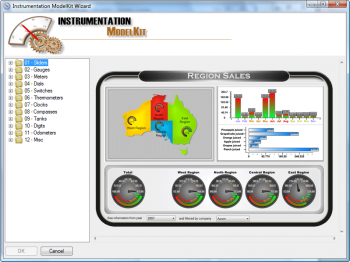Advert for SharpShooter Dashboards.Professional