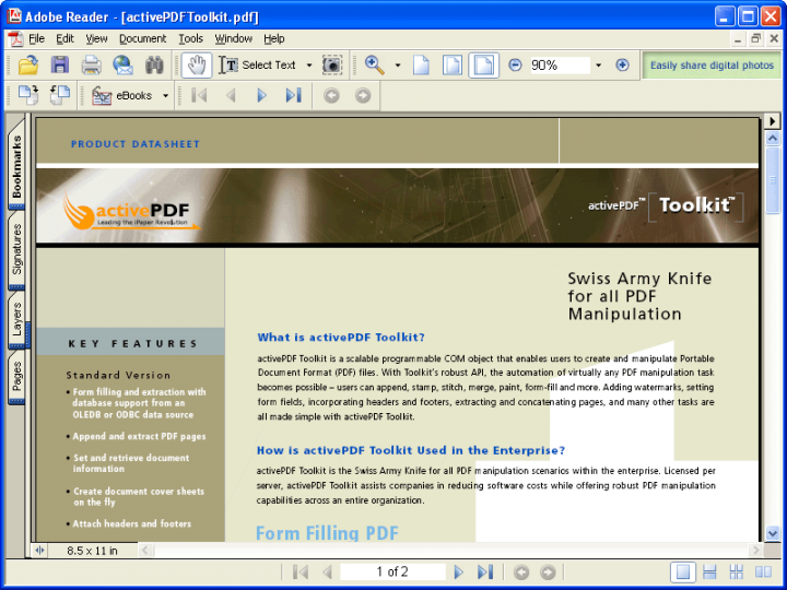 About activePDF Toolkit: Powerful PDF Manipulation.