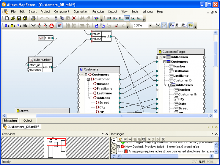 About Altova MapForce Enterprise Edition - Concurrent Users: Visual data integration and Web services implementation tool.