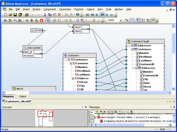 About Altova MapForce Professional Edition - Installed Users: Visual data integration tool.