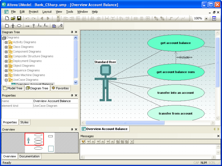 About Altova UModel Professional - Installed Users: Visually design application models and generate Java or C# code.
