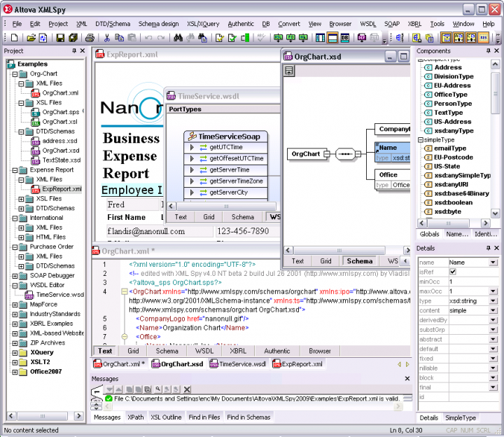 Altova XMLSpy Enterprise Edition - Upgrade from XMLSpy 2015 Enterprise 관련 정보: 고급 XML 응용프로그램을 개발.