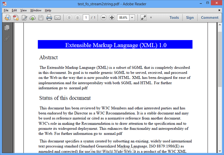 About Aspose.Pdf for .NET: Create PDF documents without utilizing Adobe Acrobat.