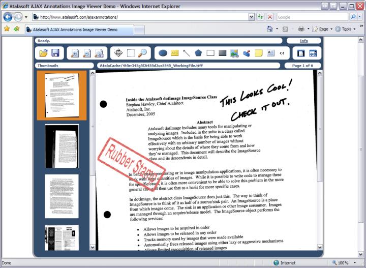 Atalasoft DotImage Document Imaging 관련 정보: 전문적인 문서 이미지 처리를 제공.