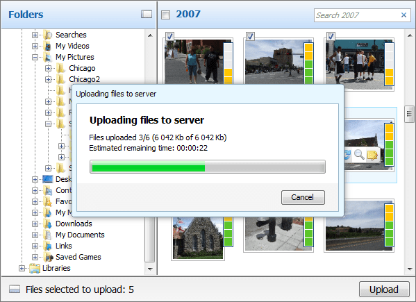 About Aurigma Image Uploader Print: Upload solution for photo print applications.