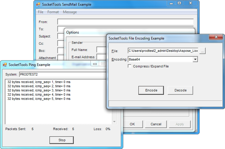About SocketTools ActiveX Edition: Twenty Internet communication controls for Visual Basic, FoxPro, and PowerBuilder.