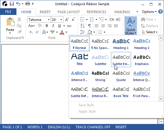 About Codejock Command Bars Visual C++ MFC: Provides Windows GUI engineers with all the components needed to create Microsoft Office XP style toolbars and menus with enhanced docking algorithms.