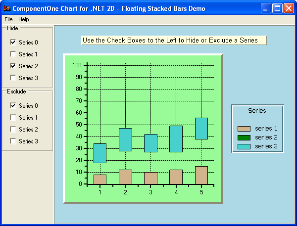 About ComponentOne Chart for WinForms: Create a wide variety of 2D and 3D charts, chart cached or streaming data, or display complex data sets in a efficient visual format.