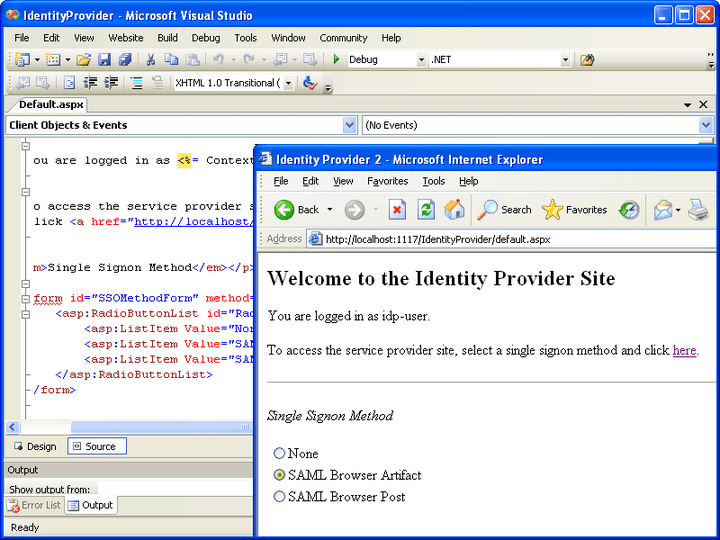 About ComponentSpace SAML v1.1 Component: Create, modify and access SAML assertions from within your Windows and Web applications.