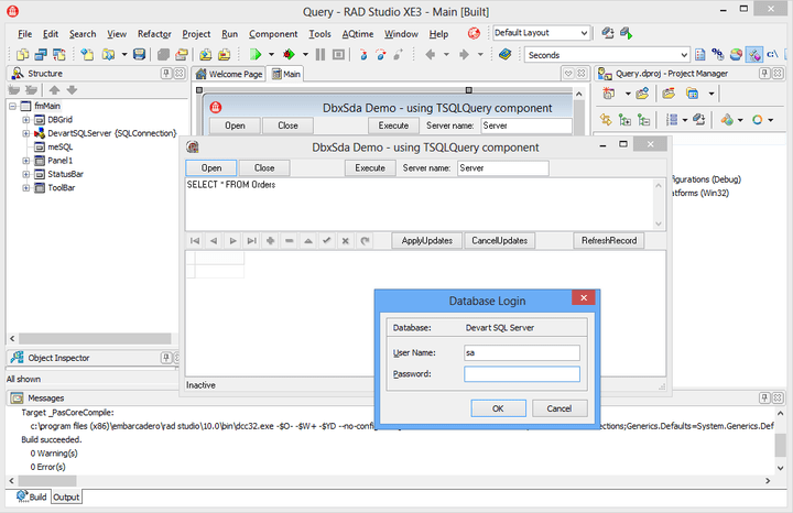About dbExpress Driver for Microsoft SQL Server: Provide fast, high performance access to Microsoft SQL Server database servers.