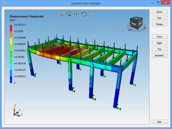 About Eyeshot Fem: Add CAD capabilities to your .NET applications.