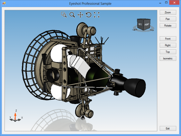 About Eyeshot Professional: Add CAD capabilities to your .NET applications.