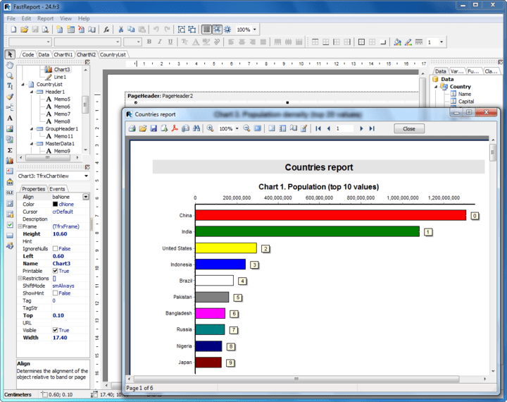 About FastReport VCL Standard Edition: Report generator for Delphi.