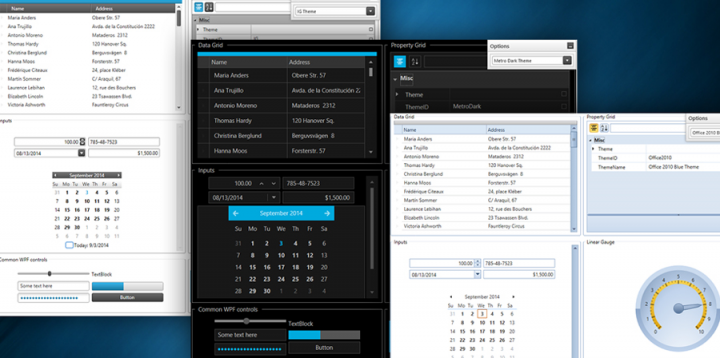 About Infragistics WPF: Create modern UI and Office UI inspired applications.