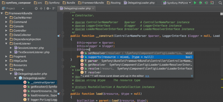 About PhpStorm: PHP IDE with refactorings, code completion, on-the-fly code analysis and coding productivity orientation.