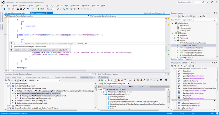 About ReSharper: Increase your .NET productivity.