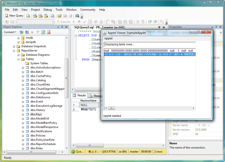 About JSQLConnect: Microsoft SQL Server connectivity for Java products.JSQLConnect is a robust type 4 driver that provides SQL Server database access from Java applications.