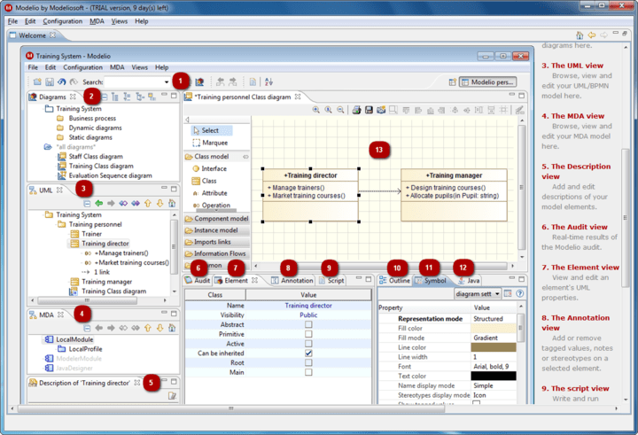 About Modeliosoft C# Solution: Boost your C# productivity and quality with Modelio and UML.