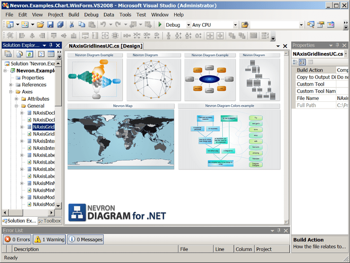 About Nevron Diagram for .NET - Professional: Add quality diagramming and graphing capabilities to your WinForms and ASP.NET applications.