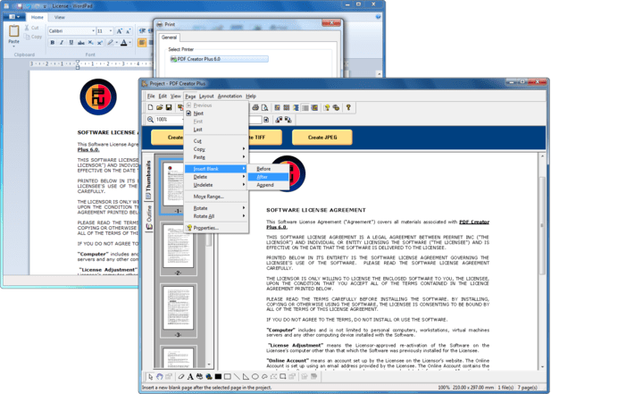 About PDF Creator Plus: Convert to PDF from any program.