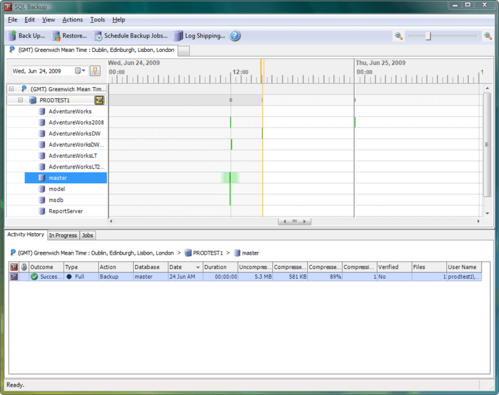 About SQL Backup Pro: Compressed and encrypted backup and recovery for SQL Server databases.