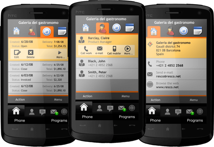 About Resco MobileBusiness ESP: Visual Studio Add-on for developing mobile business applications.