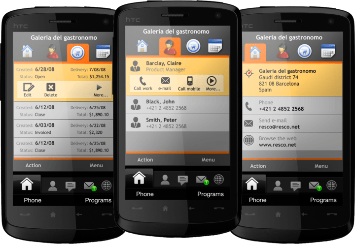 About Resco MobileForms Toolkit Windows Mobile Edition: Smart development for mobile devices with controls for .NET CF, Windows Mobile.