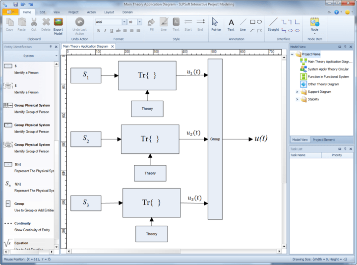 About Interactive Project Modeling: Precisely model your application.