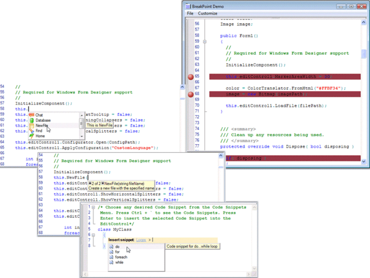About Syncfusion Essential Edit: Add Syntax highlighted editing functionality to your applications.