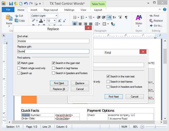 About TX Text Control .NET for WPF Professional: Comprehensive word processing components for WPF.