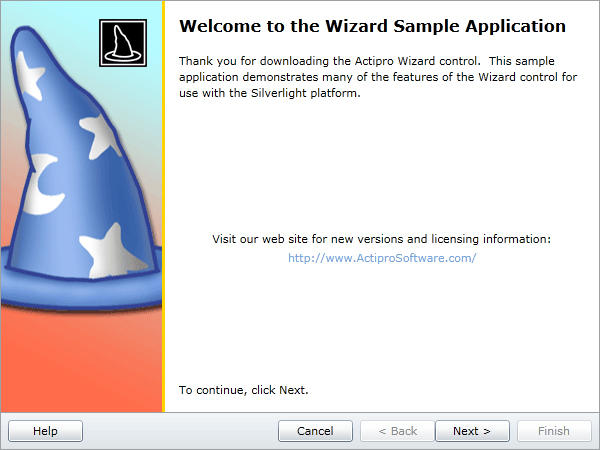 Everything you need to quickly create wizard dialogs.