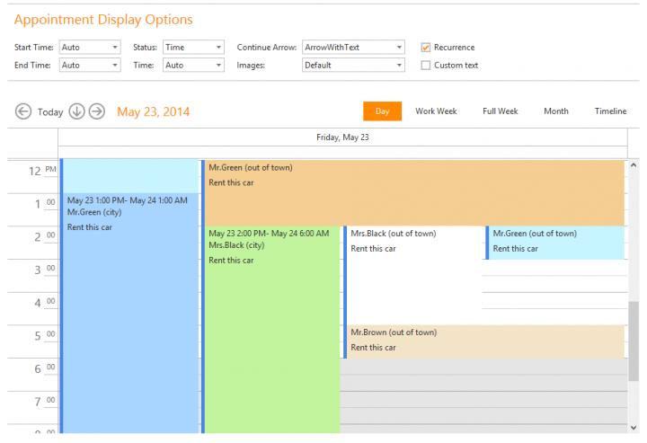 Outlook® inspired scheduler & calendar.