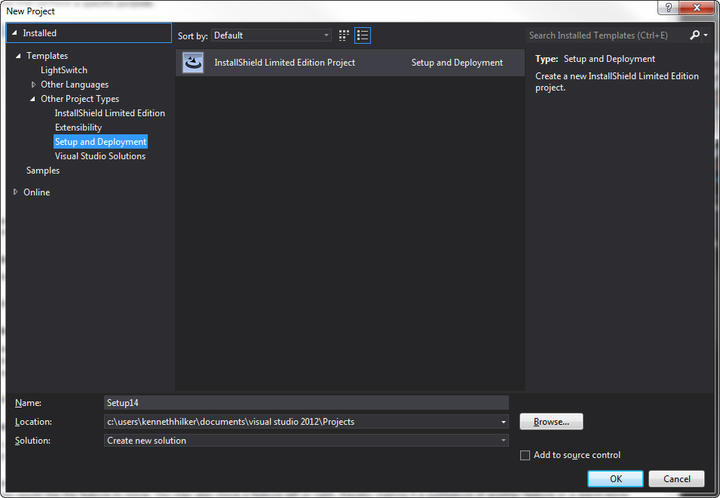 InstallShield includes support for Microsoft Visual Studio.