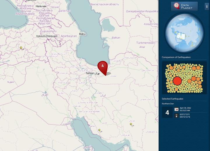 Visually arresting and interactive maps.