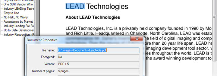 Read, write & edit PDF documents & files.