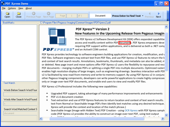 PDFXpress .NET 스크린샷