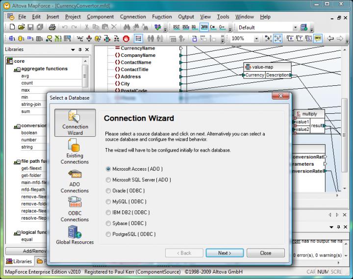 Database Mapping
