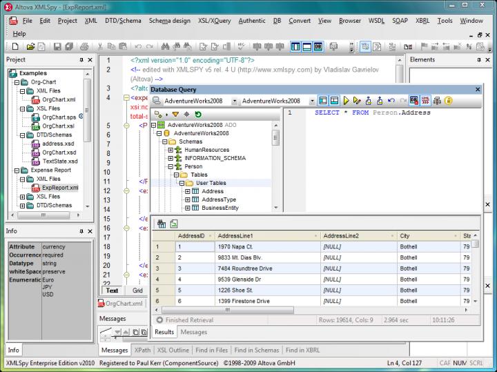 XML Editing Tools