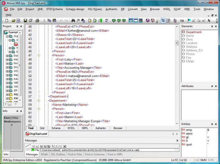 XML Editor