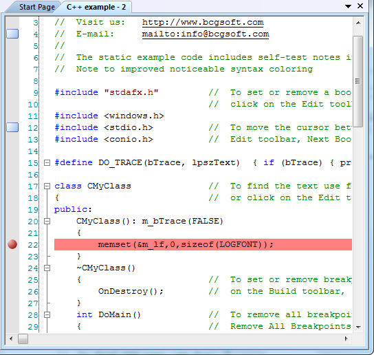 Syntax Highlighting support