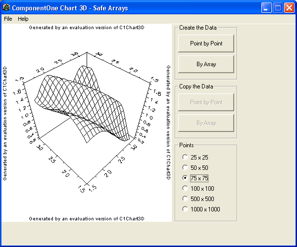 Safe Arrays: Create and copy data from your charts using 'Safe Arrays'