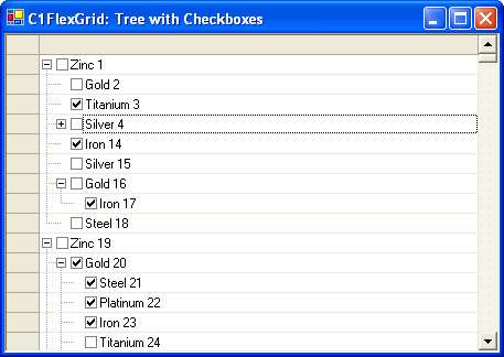 Advanced Trees: Display trees with checkboxes to give your user extra interactivity