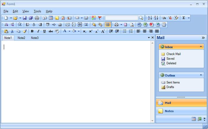 Menu & Toolbar: Powerful Suite of Menu & Toolbar Controls.