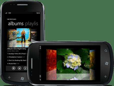 Screenshot of ComponentOne Studio for Windows Phone