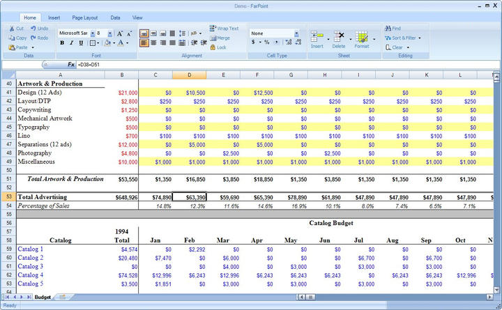 Microsoft Excel Files: Read and write native Microsoft Excel files.
