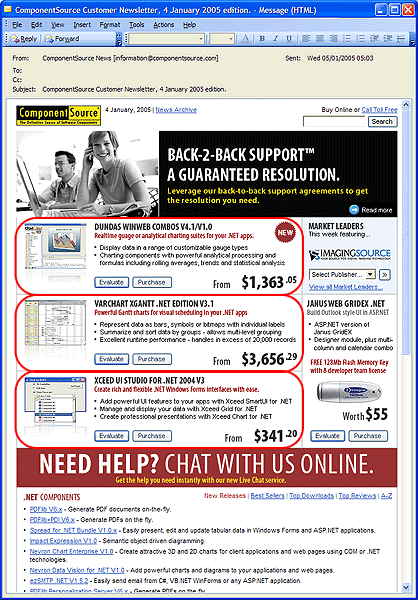 Home Page Advert Premium Position - Top