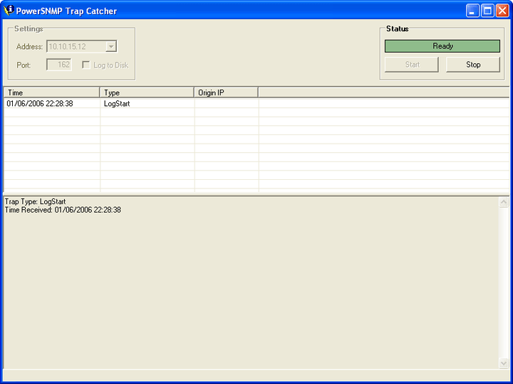 Trap Catching: PowerSNMP .NET lets you receive, trap and notify (version 2 and 3 trap) messages.