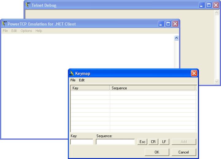 External Telnet Client