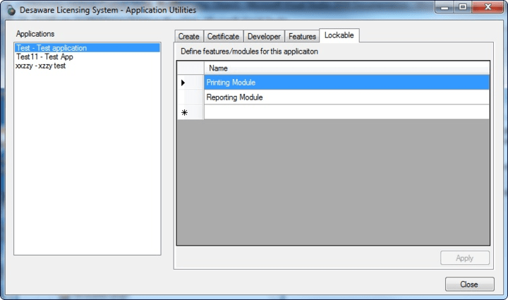 Create Installation Codes: You can create one or more installation codes. You can copy the codes to the clipboard or save them to disk.